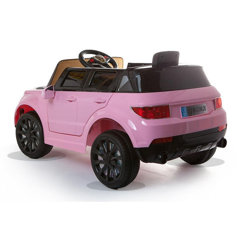 12V Pink Evoque Style Battery Kids Ride On Car 2