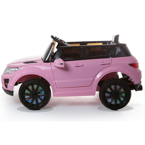12V Pink Evoque Style Battery Kids Ride On Car 3