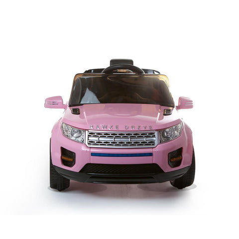12V Pink Evoque Style Battery Kids Ride On Car 4