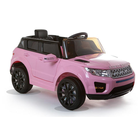 12V Pink Evoque Style Battery Kids Ride On Car