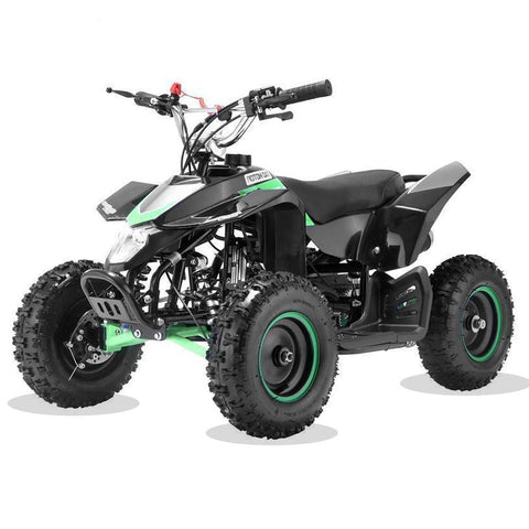 Kids Mini 50cc Quad Bike Avenger - Green and Black