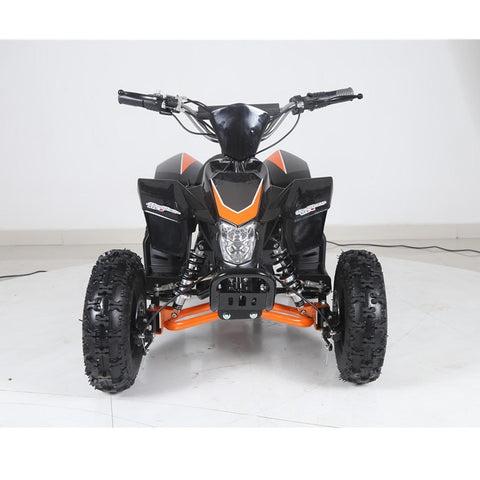 Tao 800w Electric Mini Kids Quad Bike with Reverse - Orange 3