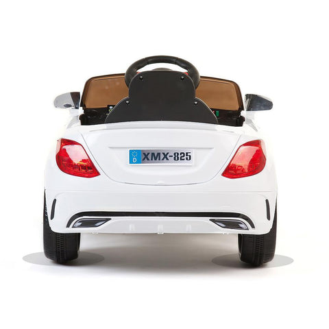 White SL Roadster - 12V Kids' Electric Ride On Car 3