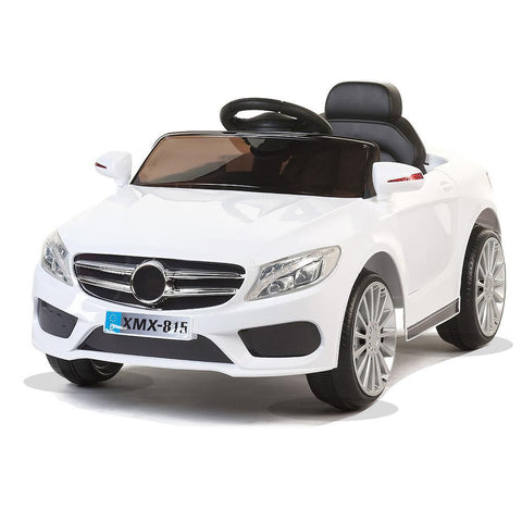White SL Roadster - 12V Kids' Electric Ride On Car