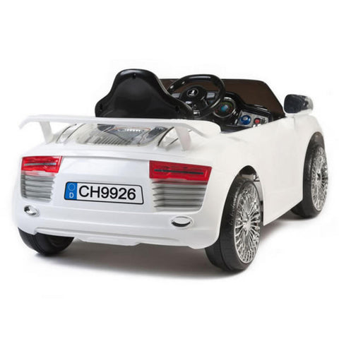 Audi Style 12v Kids Electric Ride on Car with Remote - White