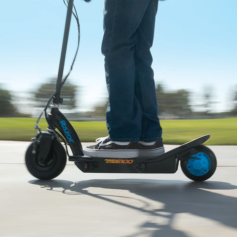 Razor Power Core™ E100 Electric Scooter - Blue 6