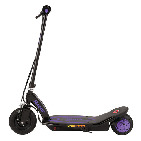Razor Power Core™ E100 Electric Scooter - Purple 2