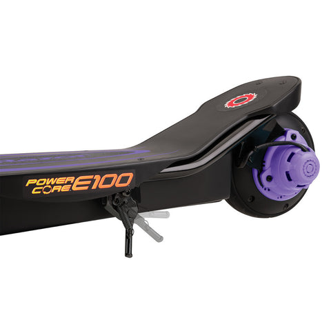 Razor Power Core™ E100 Electric Scooter - Purple 4