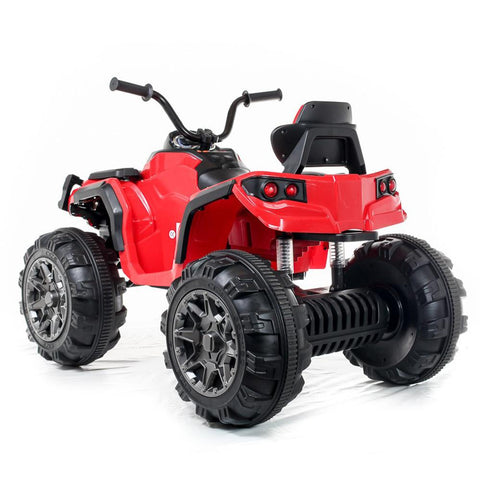 Kids Electric 12V Twin Motor Quad Bike - Red