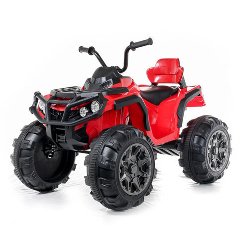 Electric 12V Twin Motor Quad Bike - Red