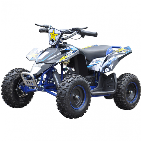 Renegade LT100E Kids Electric Battery 1000w Quad Bike - Blue