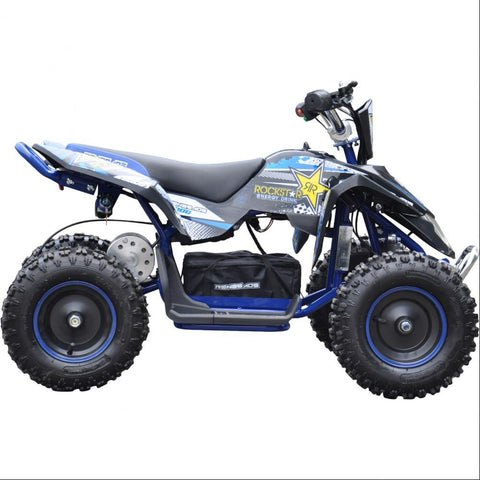 Renegade LT100E Kids Electric Battery 1000w Quad Bike - Blue 1