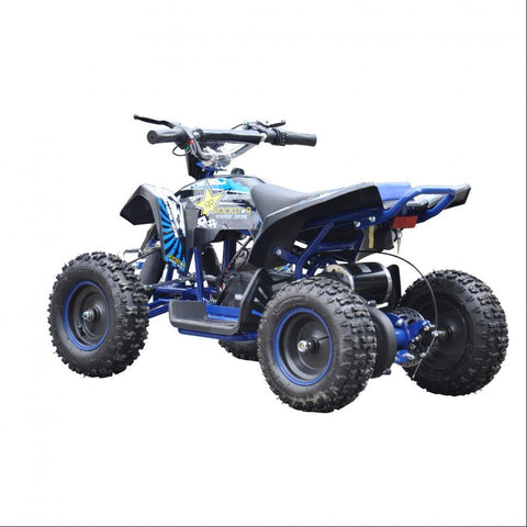 Renegade LT100E Kids Electric Battery 1000w Quad Bike - Blue 2