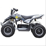 Renegade LT100E Kids Electric Battery 1000w Quad Bike - White 3