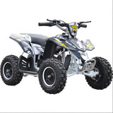 Renegade LT100E Kids Electric Battery 1000w Quad Bike - White 2