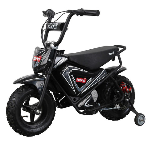 Revvi Kids Electric 250w Mini Dirt Motorbike - Black 3