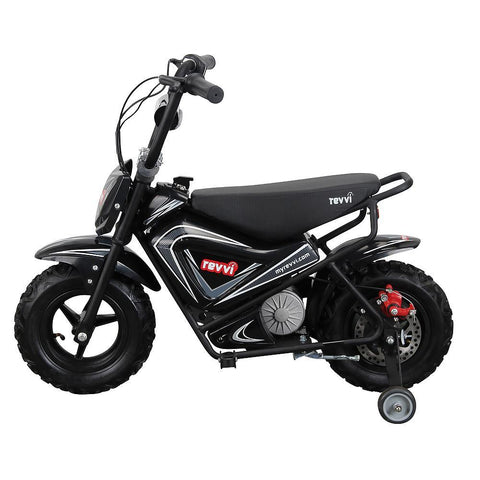 Revvi Kids Electric 250w Mini Dirt Motorbike - Black 2