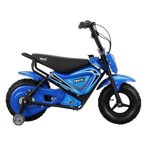 Revvi Kids Electric 250w Mini Dirt Motorbike - Blue 3