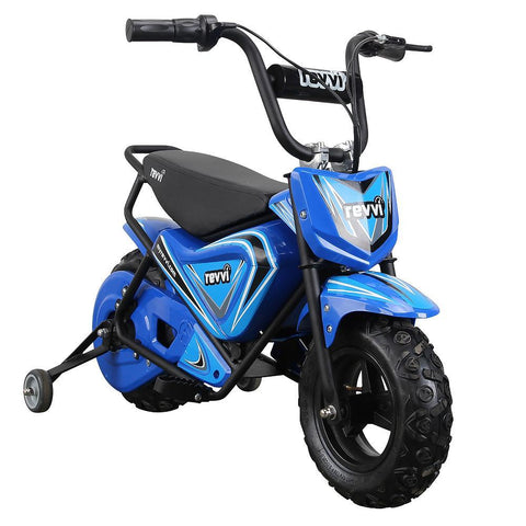 Revvi Kids Electric 250w Mini Dirt Motorbike - Blue