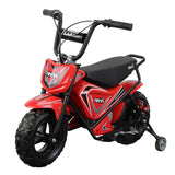 Revvi Kids Electric 250w Mini Dirt Motorbike - Red 3
