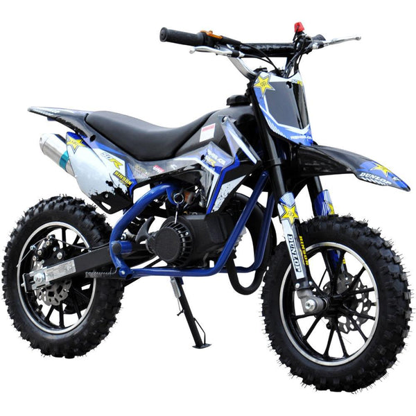 Renegade 50R Kids 49cc Petrol Mini Dirt Bike - Blue