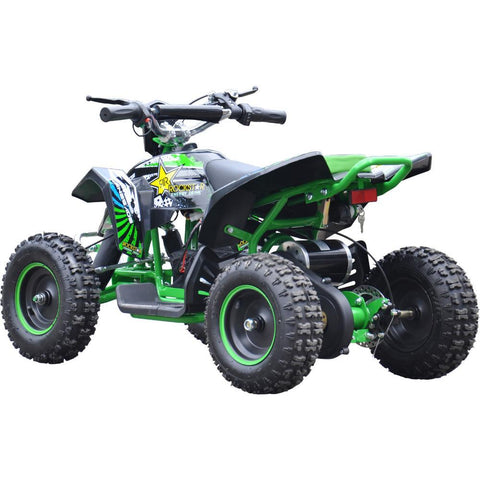 Renegade LT100E Kids Electric Battery 1000w Quad Bike - Green 3