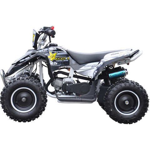 Renegade LT50A Kids Petrol Quad Bike - White 2