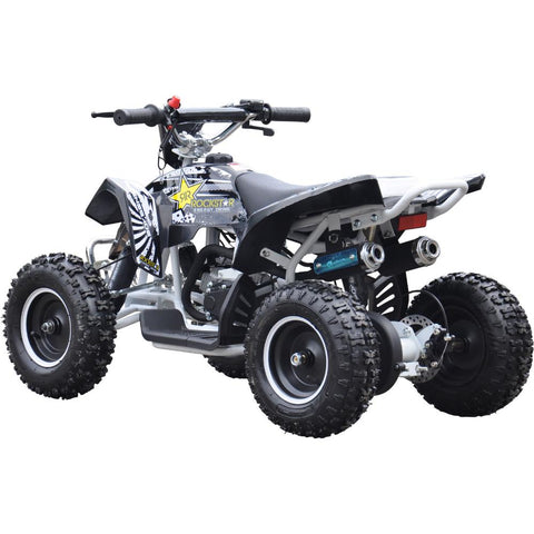 Renegade LT50A Kids Petrol Quad Bike - White 3