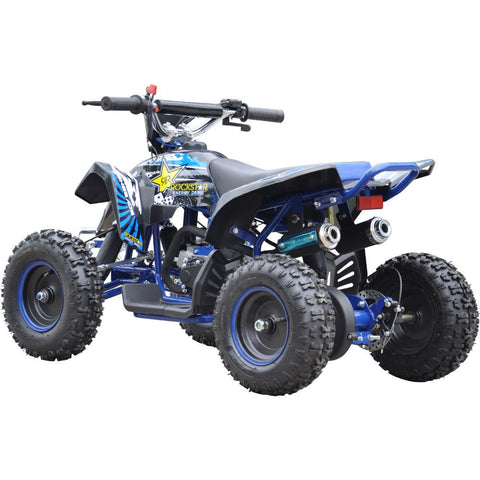 Renegade LT50A Kids Petrol Quad Bike - Blue 4