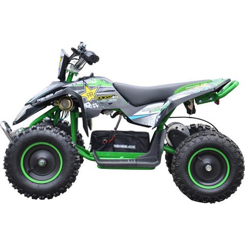 Renegade LT100E Kids Electric Battery 1000w Quad Bike - Green 2