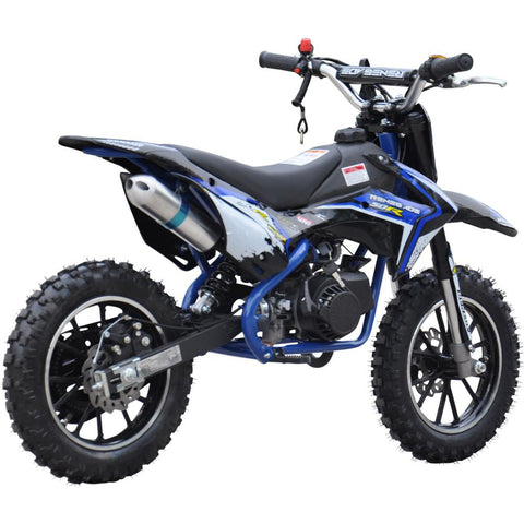 Renegade 50R Kids 49cc Petrol Mini Dirt Bike - Blue 3