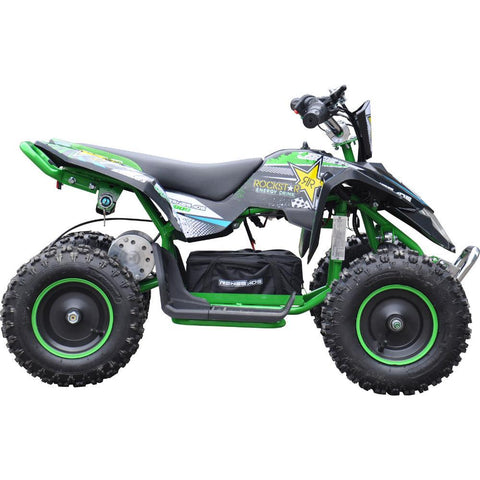 Renegade LT100E Kids Electric Battery 1000w Quad Bike - Green 1
