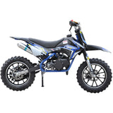 Renegade 50R Kids 49cc Petrol Mini Dirt Bike - Blue 4