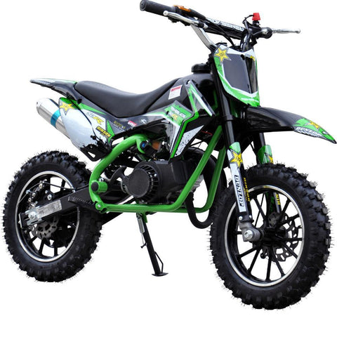Renegade 50R Kids 49cc Petrol Mini Dirt Bike - Green