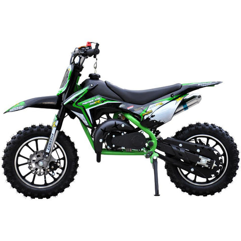 Renegade 50R Kids 49cc Petrol Mini Dirt Bike - Green 2