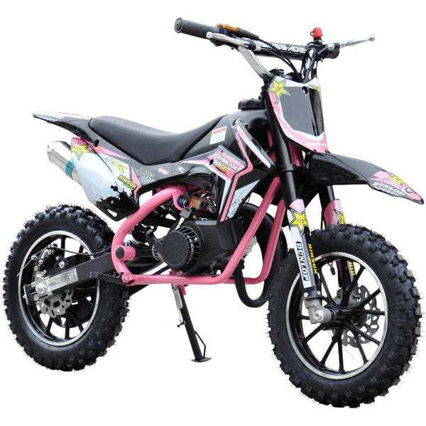 Renegade 50R Kids 49cc Petrol Mini Dirt Bike - Pink
