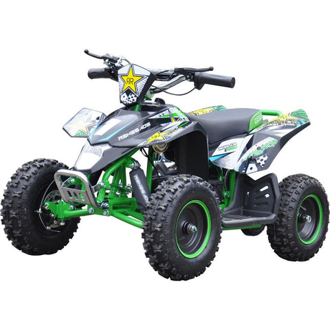 Renegade LT100E Kids Electric Battery 1000w Quad Bike - Green