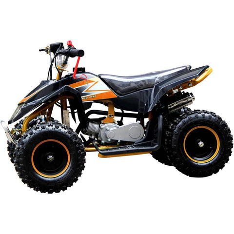 Z20 49cc Kids Petrol ATV Quad Bike - Orange