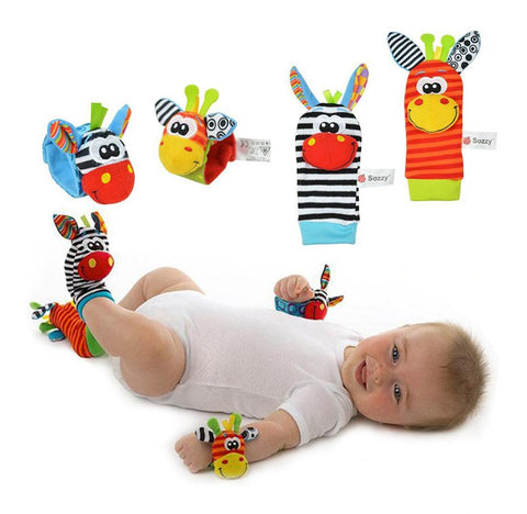 Baby Wrist And Sock Rattle Toy
