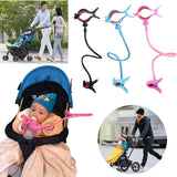 Adjustable Baby Bottle Holder - Flexible Hands-Free Hose Clip Holder