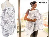 Breastfeeding Muslin Cover - 100% Cotton Nursing Apron