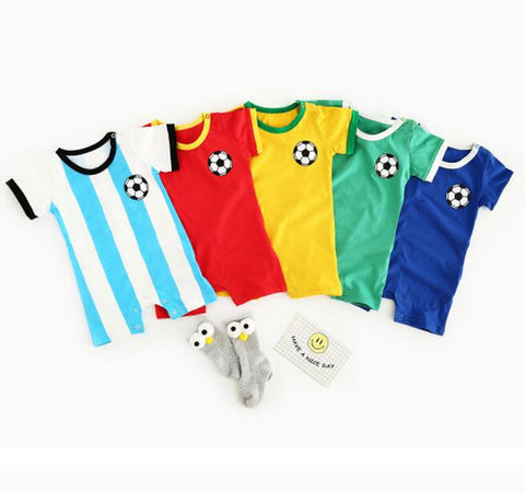 World Cup Jersey Baby Onesies