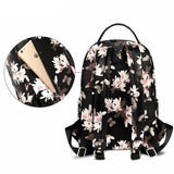 NEW 2018 COLORLAND Diaper bag - PU Leather Nappy Backpack