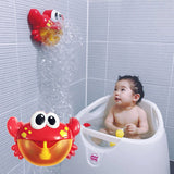 Musical Bubble Crab - Baby Bathtub Toy For Kids