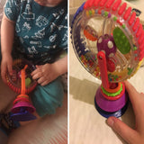Rotating Windmill With A Suction Cup - Developmental Toy For Babies