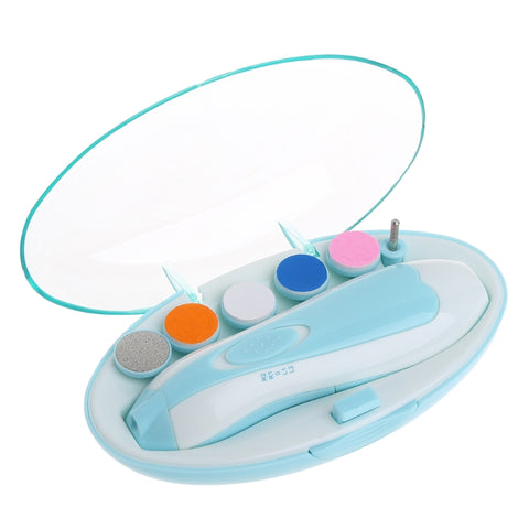 Easy & Safe Nail Cutter - Electric Baby Nail Trimmer