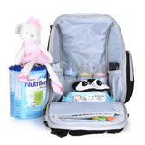 Insular Unisex Baby Diaper Bag - Nappy Backpack