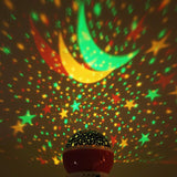 Starry Night Sky - Rotating Table Lamp - LED Lights Projector