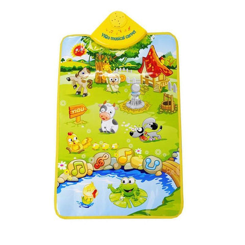 Musical Carpet Learning Toy - Animal Farm Sounds