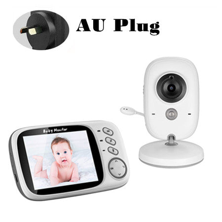 Digital Video Baby Monitor With Two Way Sound